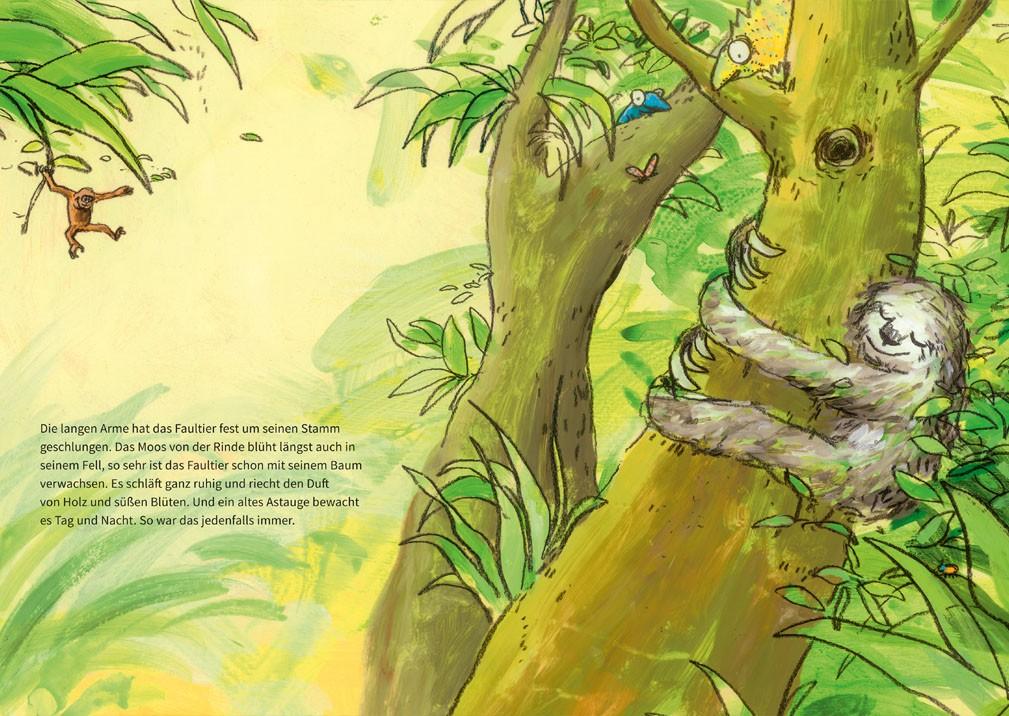 Als das Faultier mit seinem Baum verschwand_S2